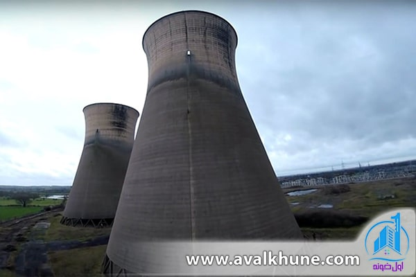 برجهای خنک کننده در بلژیک