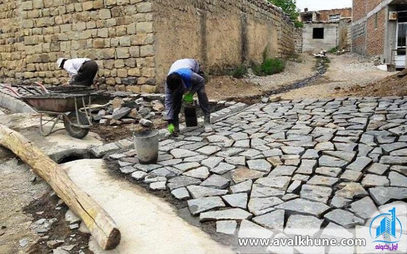 اجرای طرح هادی روستایی در روستا های شمال