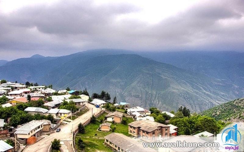 روستای آلاشت در شهر سوادکوه