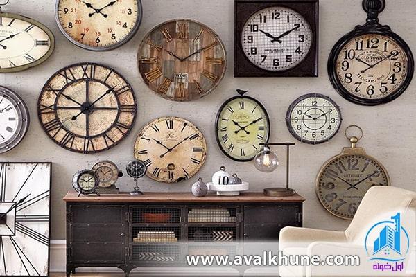 استفاده از انواع ساعت