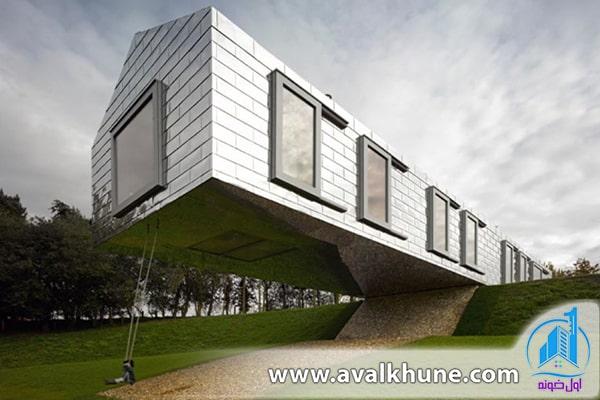 معماری خانه تعادل