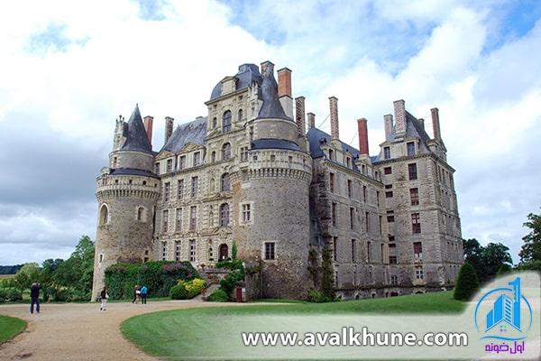 قلعه نفرین شده Château de Brissac؛ فرانسه