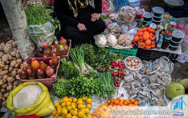 بازار زیبای نوشهر