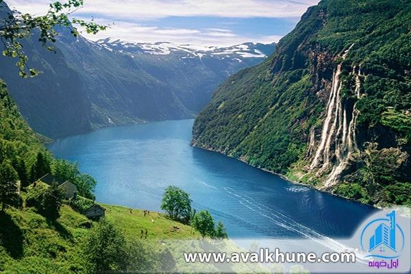 Geiranger Fjord؛ نروژ