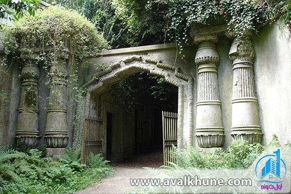 قبرستان Highgate؛ شمال لندن؛ انگلستان