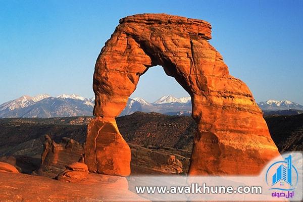 پارک ملی Arches؛ آمریکا