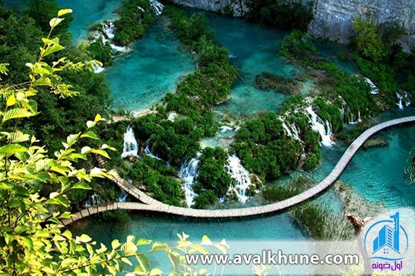 دریاچههای Plitvice در کرواسی