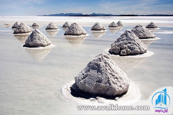 Salar de Uyuni؛ بولیوی