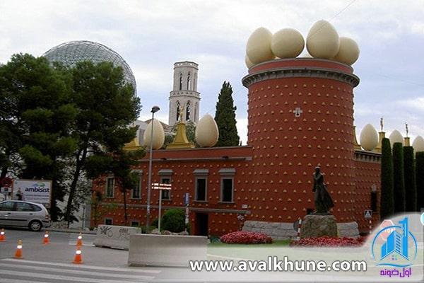 موزه و خانه تئاتر دالی؛ کاتالونیا، اسپانیا
