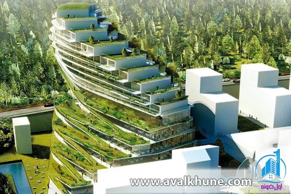 مزایای معماری سبز