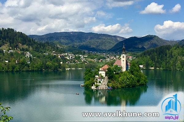 دریاچه بلد در اسلوونی