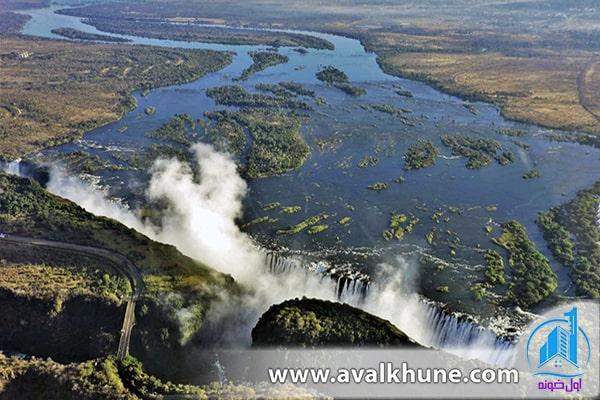 آبشار ویکتوریا؛ زامبیا / زیمبابوه
