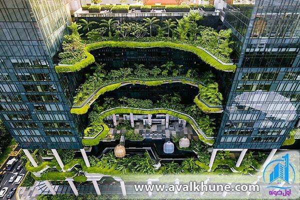 طراحی ساختمانهای سبز