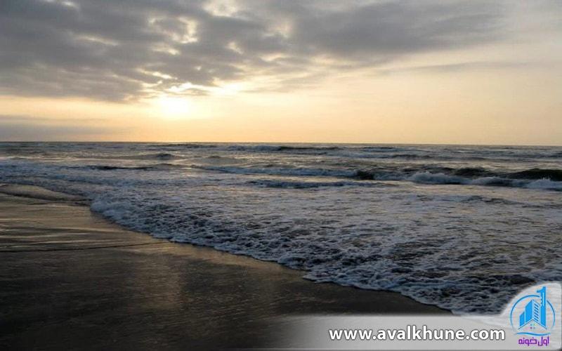 تمیزترین ساحل دریای خزر