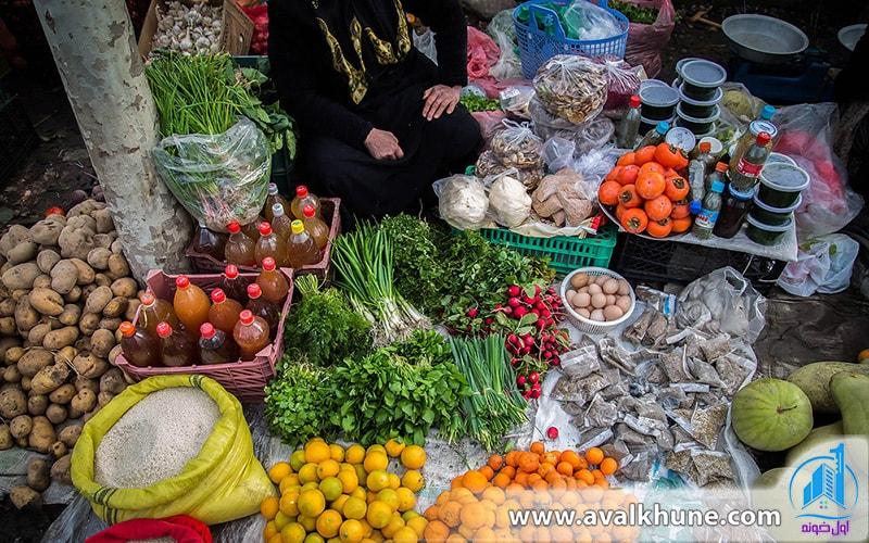 بازارهای سنتی شمال