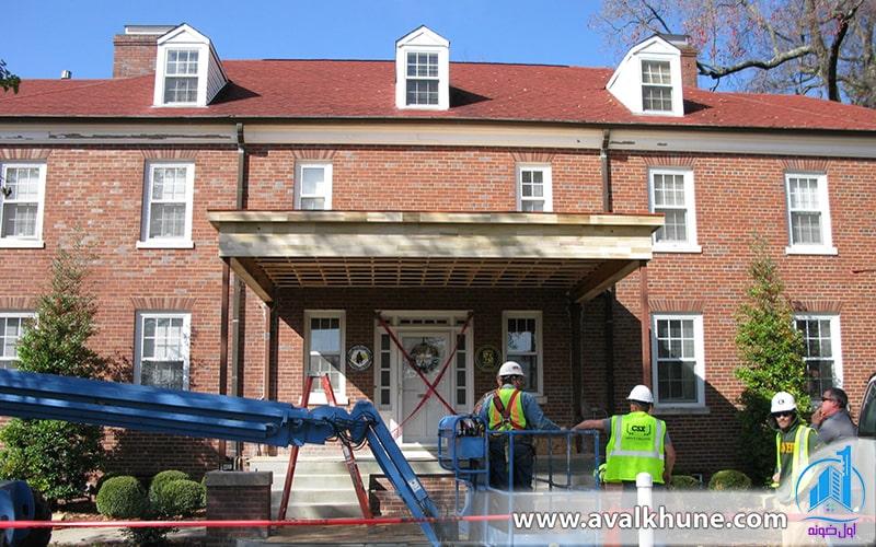 تعمیر و بازسازی ویلا در شمال