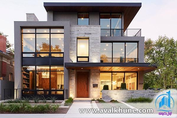 طراحی نمای خارجی ساختمان